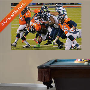 Seattle Seahawks - Super Bowl XLVIII Defensive Swarm Mural Fathead Wall Decal